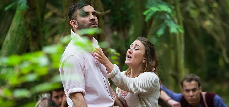 A Midsummer Night's Dream at Puzzlewood - tickets available for 29th/30th June & 1st July
